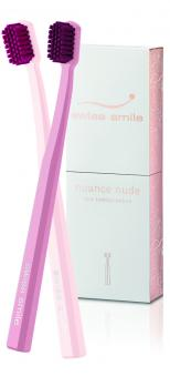 Nuance nude two toothbrushes - Ultra Soft Zahnbürsten